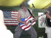 Ted Nugent playing solo to 'Stranglehold'
